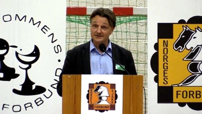 El presidente de la NSF, Morten Lillestol Madsen