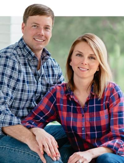 Robert Foster y su esposa