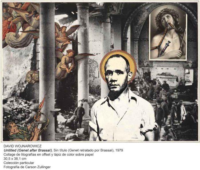 David Wojnarowicz Genet retratado por Brassaï