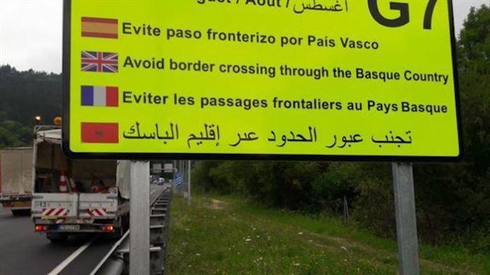 G7 Biarritz avisos de trafico