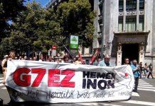 G7 Biarritz manifestaciones