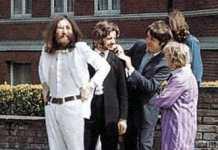 John, Ringo, Paul y George en Abbey Road