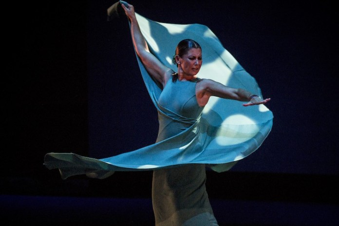 ©Javier Fergo: Flamenco om Fire 2019 Sara Baras