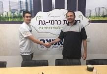 Yair Hoffmany junto a Israel Zeira de B Emunah