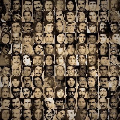 Amnistía: Víctimas de las matanzas en Irán en 1988 © Particular