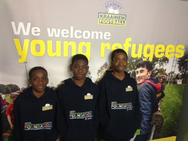 Kraainem F.C menores refugiados