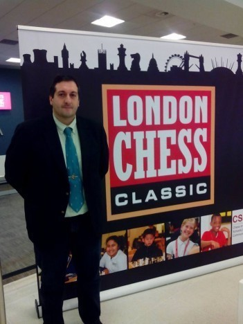 Luis Blasco London chess classic