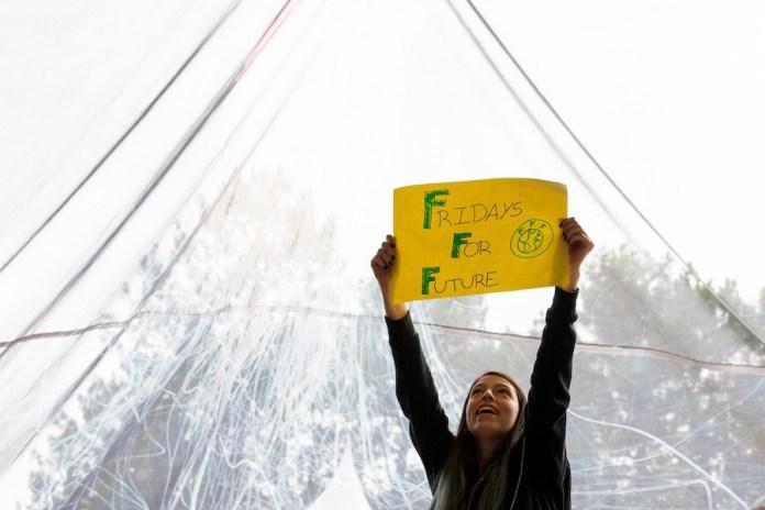 """Manuela Martín """"Mei"""", activista climática de Fridays for Future España de 16 años."""