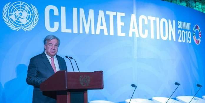 ONU//Cia Pak: El Secretario General, António Guterres, en la ceremonia de inauguración de la Cumbre sobre la Acción Climática