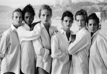 Peter Lindbergh modelos playa