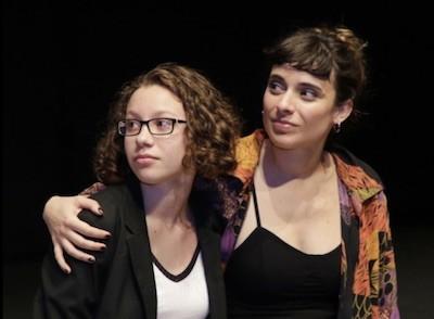 Romina Betancur y Lucía Garibaldi por Pablo Gómez