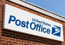 US Post Office logo USPS