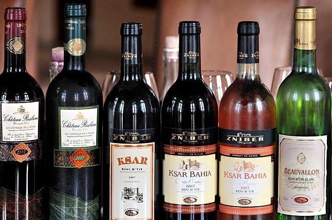 vinos marroquíes