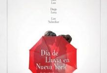 Día de lluvia en Nueva York poster
