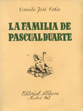 La Familia de Pascual Duarte Editorial Aledcoa 1942