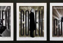 Leonard Cohen post Canadá