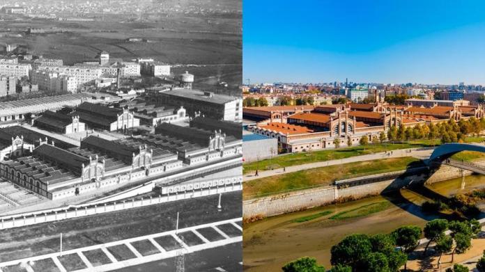 Madrid, Matadero antes y ahora