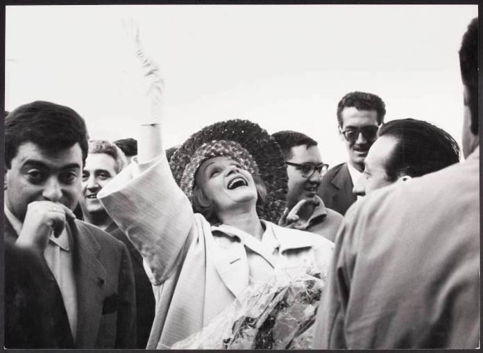 Ontañon Marlene Dietrich Madrid 1960