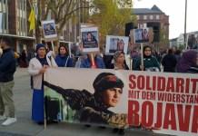 Protestas en ciudades europeas por la ofensiva turca contra Rojava