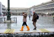 PE: Consecuencias del cambio climático en la Plaza de San Marcos en Venecia