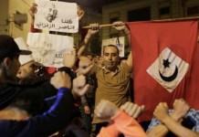 Protestas en las calles de Alhucemas