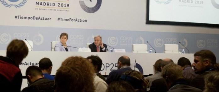 Guterres COP25 Madrid 1DIC2019