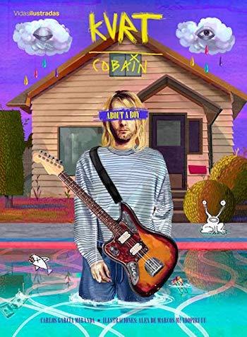 Kurt Cobain cubierta About a boy