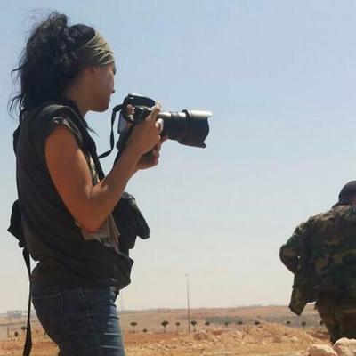 Foto de Natalia Sancha, corresponsal en Oriente Medio, especializada en el mundo árabe