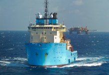 barco danés Maersk Launcher