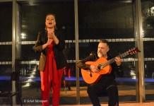 Gema Caballero y Javier Patino en el Treinta Festival Flamenco de Nimes. 13ENE2020