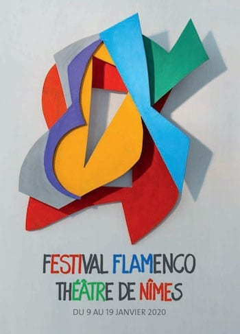 Nimes cartel del festival flamenco 2020