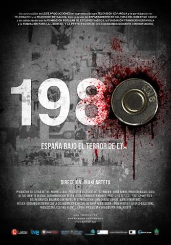 cartel 1980 España bajo el terror de ETA