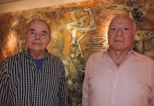 Armando Colina y Victor Acuña, promotores de la Galería Arvil