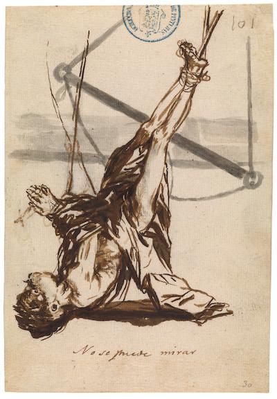 Goya: No se puede mirar