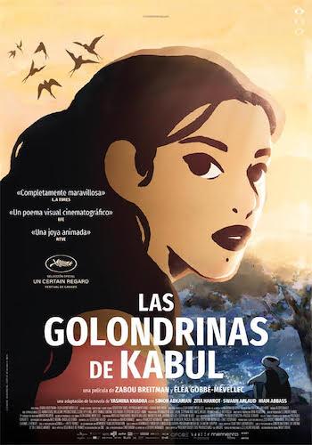 Las golondrinas de Kabul cartel