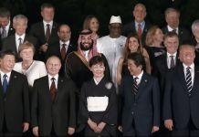 MBS en la cumbre del G20 celebrada en Osaka en 2019