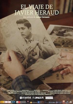 Javier Heraud El viaje cartel