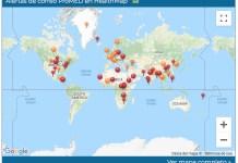 ProMED mapa alertas