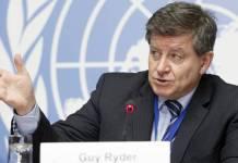 Guy Ryder, director de la Organización Internacional del Trabajo (OIT)