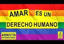 Proclama de Amnistía Internacional: amar derecho humano