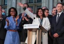 Anne Hidalgo renueva mandato en la alcaldía de París en alianza con los ecologistas. 28JUN2020