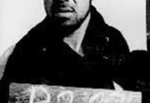 Basiri en su última foto una vez detenido en 1970