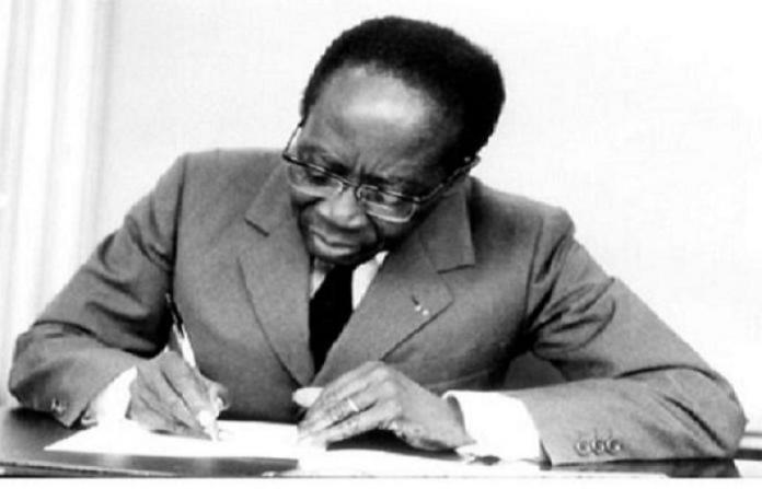 Leopoldo Senghor firma una ley contra la discriminación de lenguas locales, 10ABR1977