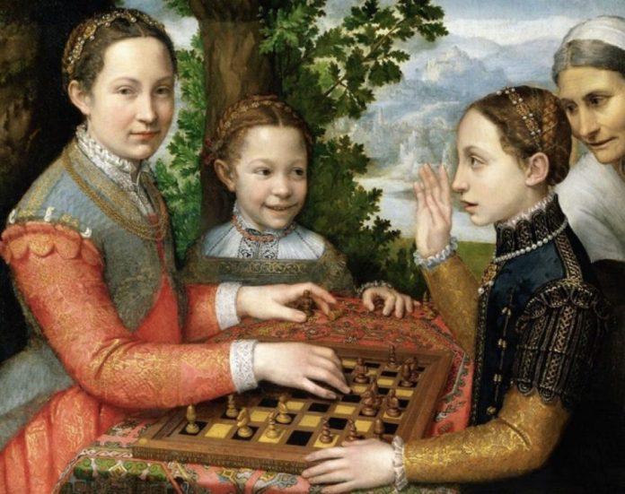 'El juego del ajedrez' de Sofonisba Anguissola