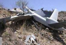 Dron azerí derribado por Armenia