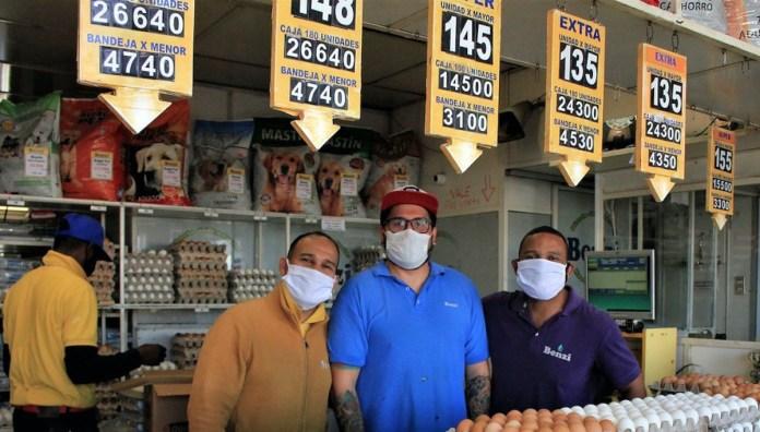 FAO/Max Valencia El principal mercado mayorista en Chile, Lo Valledor, durante la pandemia de COVID-19