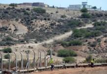 Construcción de un muro fronterizo entre Argelia y Marruecos