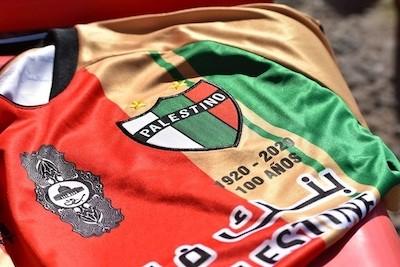Club Palestino camiseta centenario