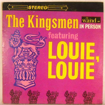 Louie Louie kingsmen single