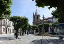 Portugal Penafiel plaza principal